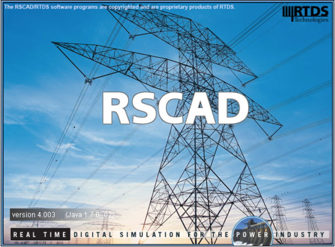 RSCAD-power-system-simulation-software