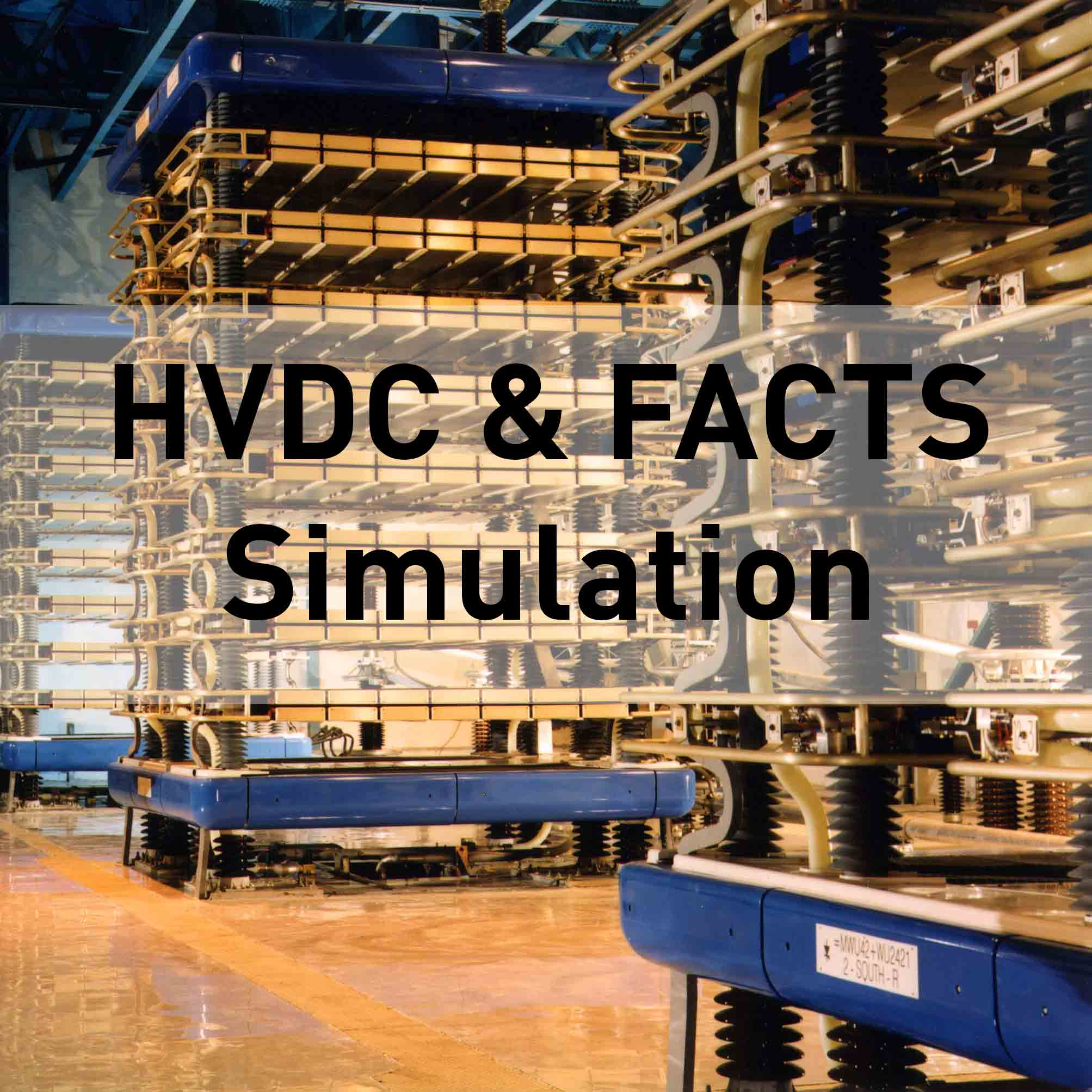 hvdc-facts simulation
